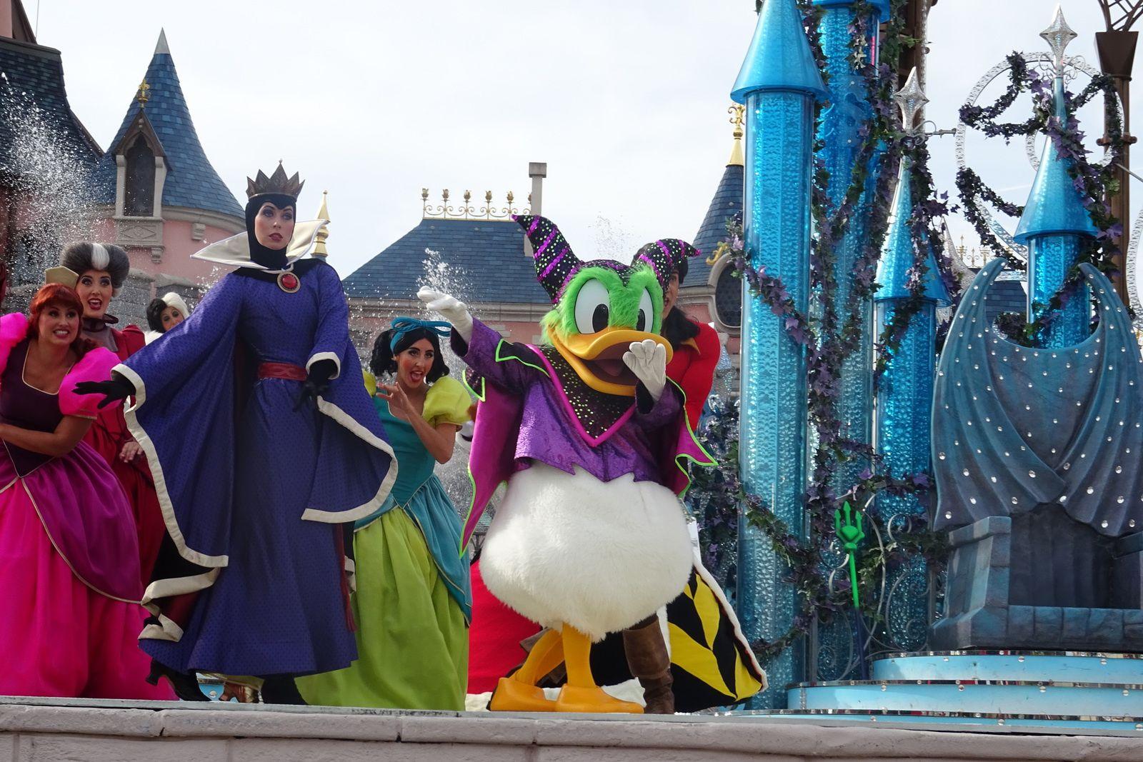 Le Festival Halloween à Disneyland Paris 2018