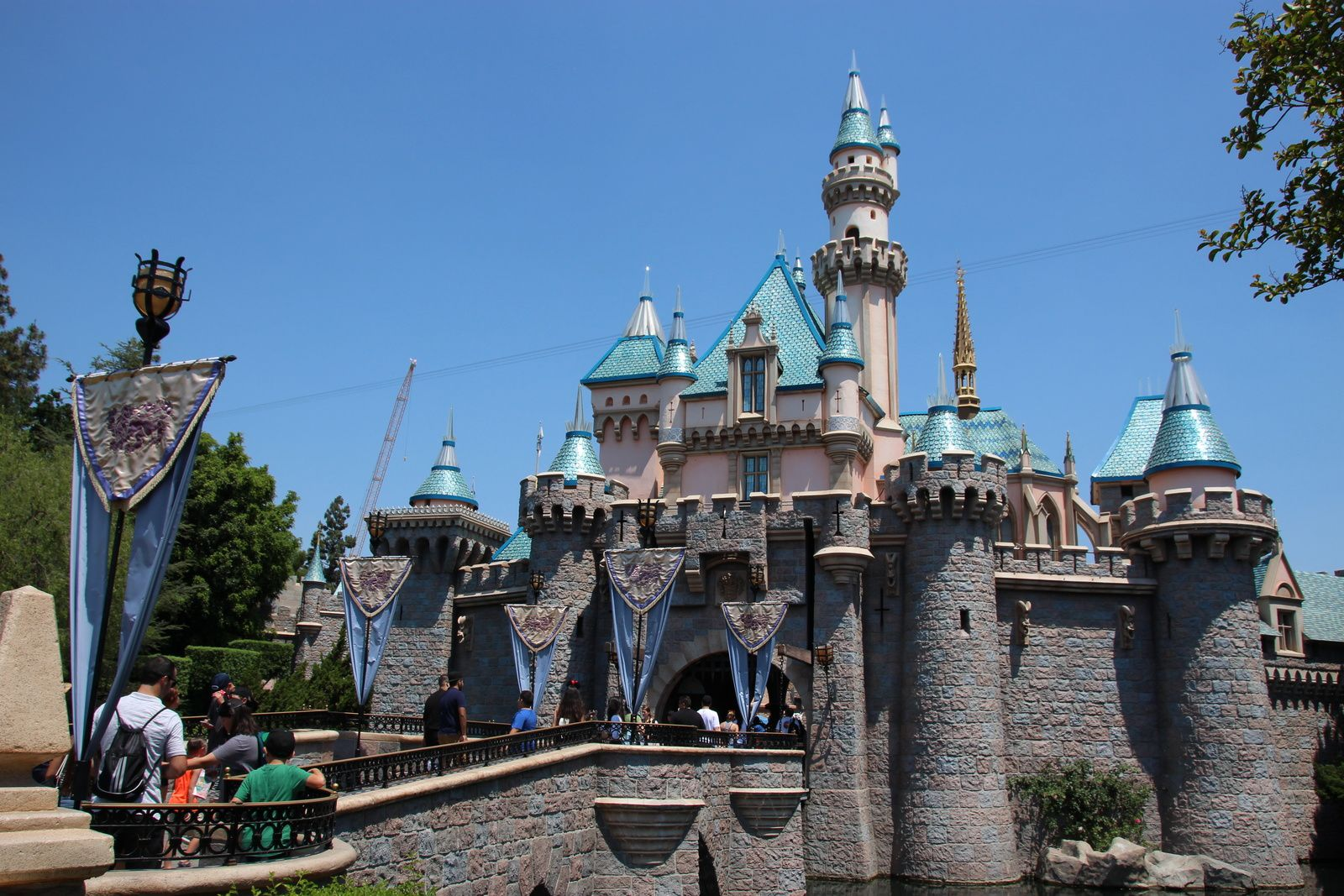 Sleeping Beauty Castle, Disneyland Park (Californie)