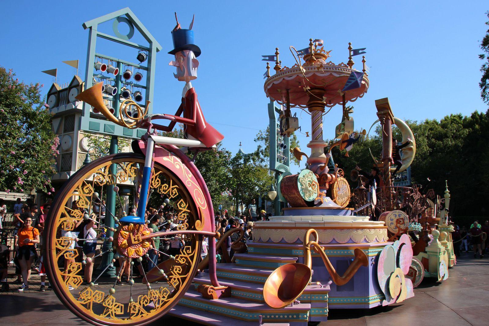 Les parades de Disneyland Park (Californie)