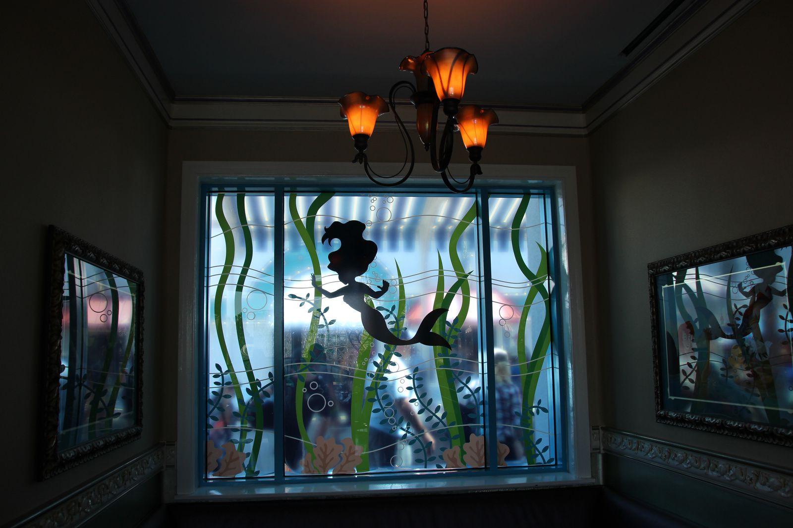 Ariel's Grotto, restaurant de Paradise Pier, Disney California Adventure