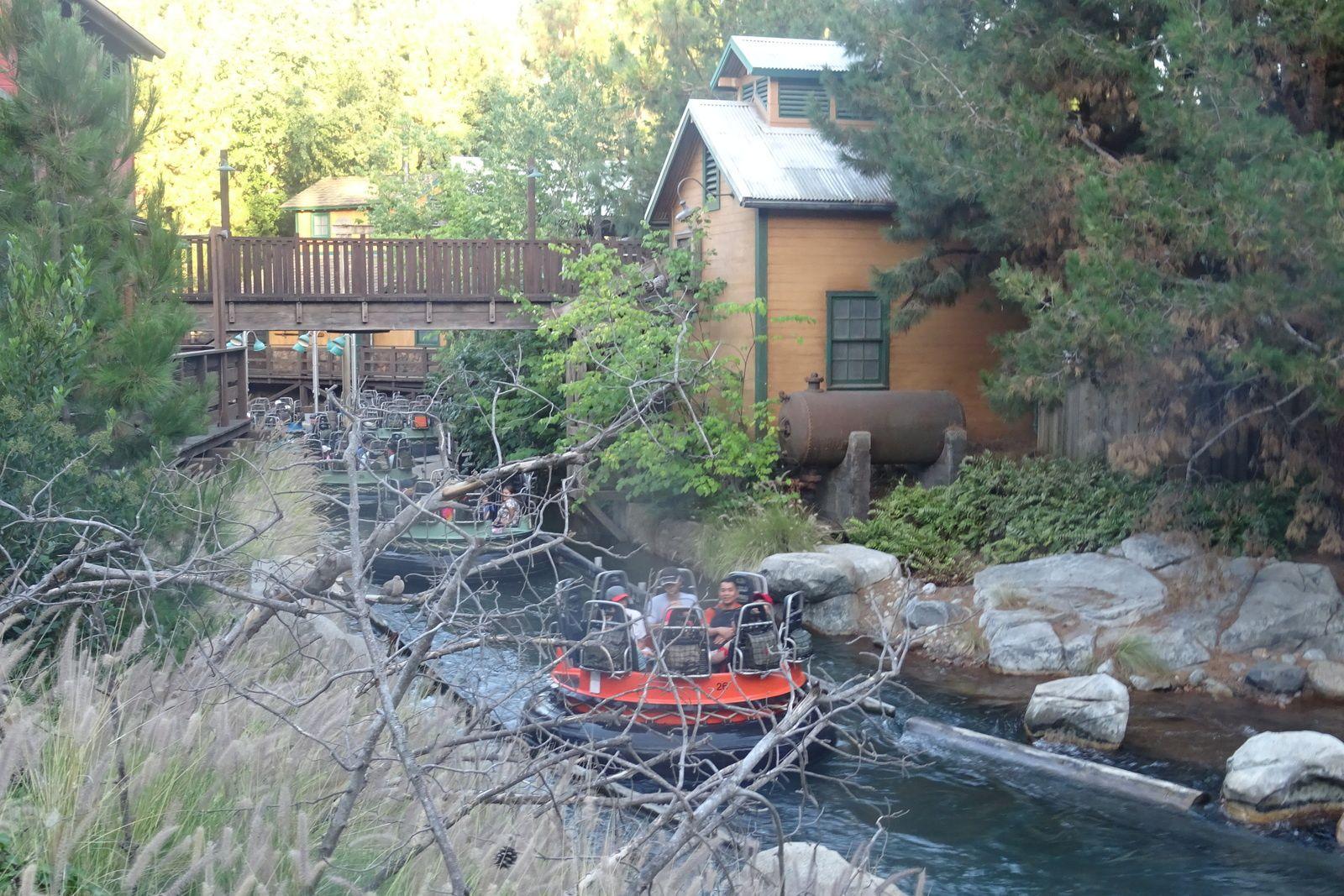 Grizzly Peak, Disney California Adventure