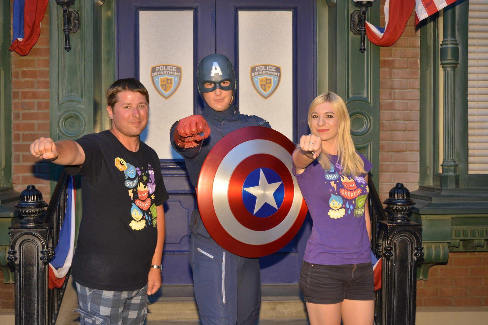 Summer of Heroes, Disney California Adventure