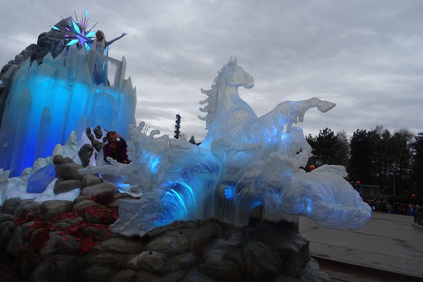 Célébration de La Reine des Neiges à Disneyland Paris (2020)