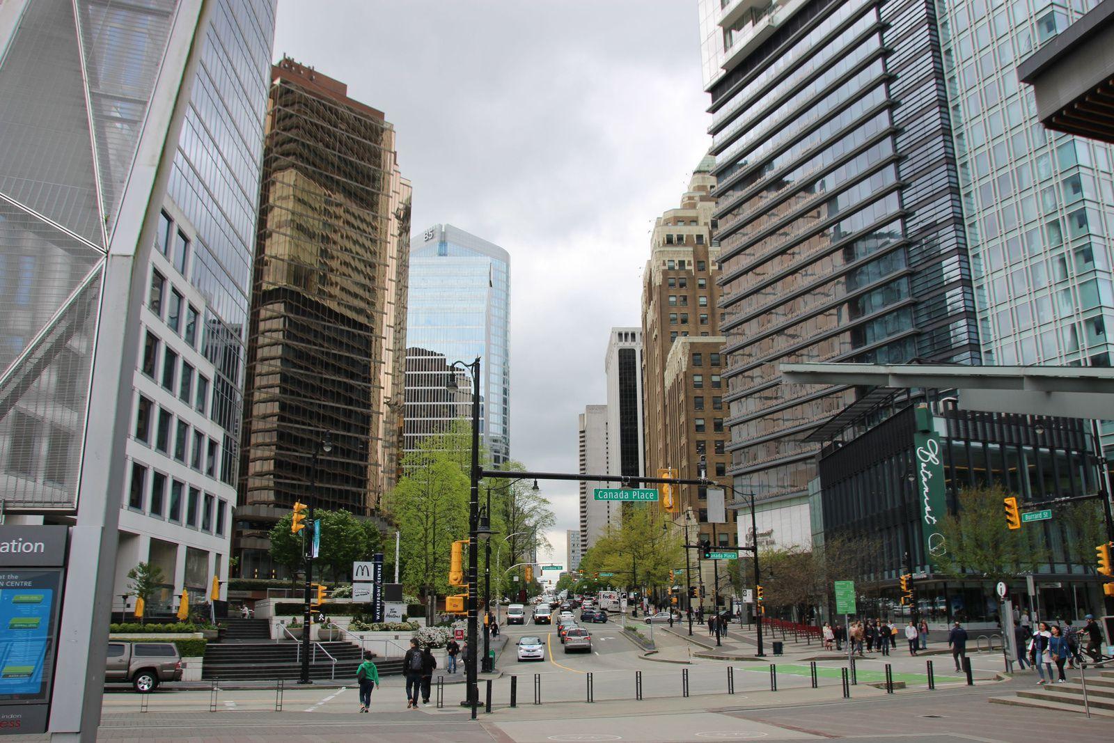 Canada Place, Vancouver Lookout et shopping à Downtown
