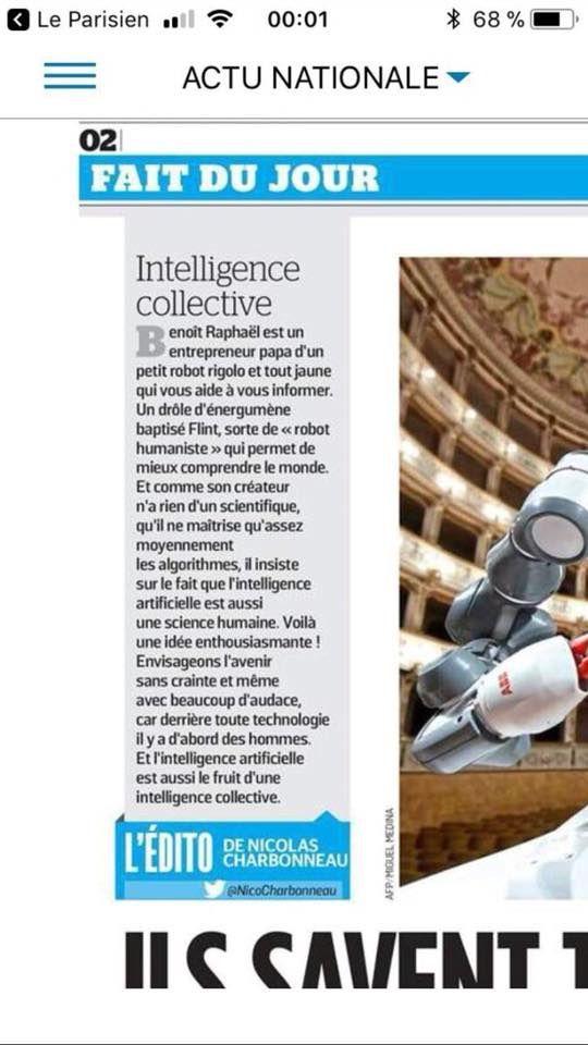 Intelligence artificielle... et collective