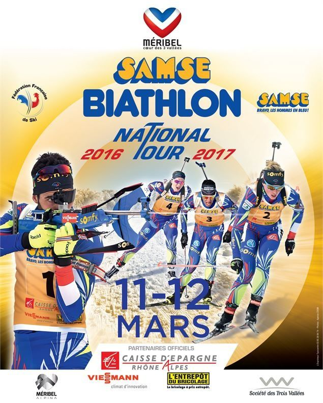 Samse National Biathlon tour, étape de Méribel.