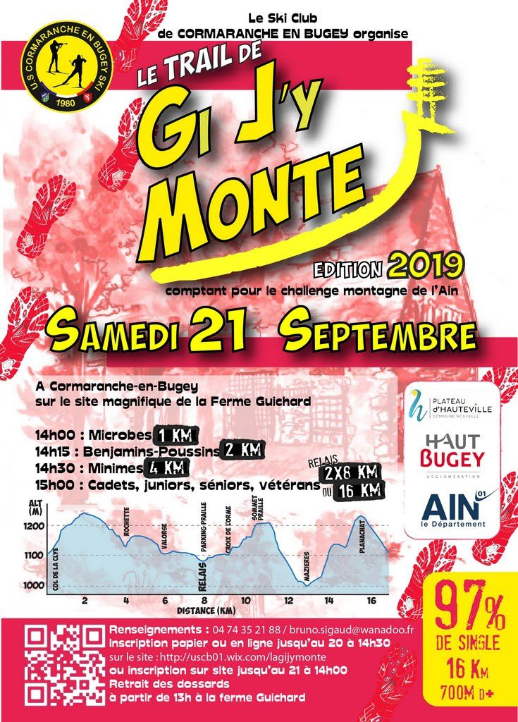 Trail de la Gi J'y Monte 2019