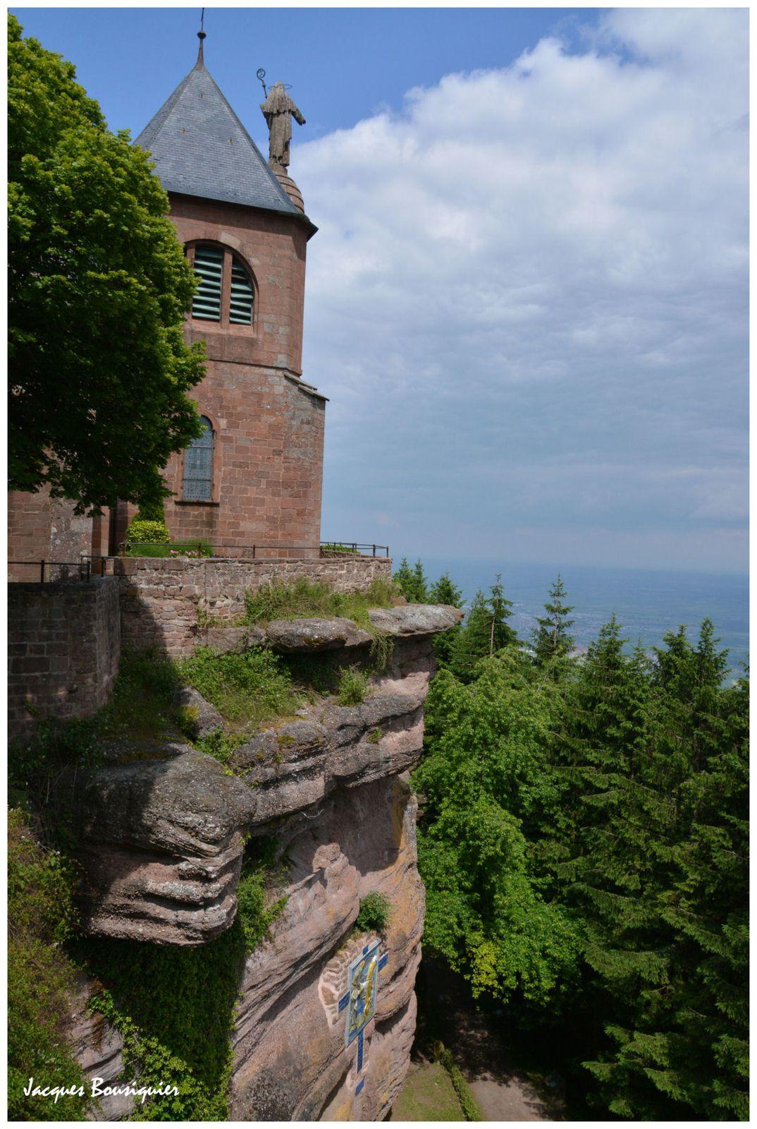 Le Mont Ste Odile et son couvent