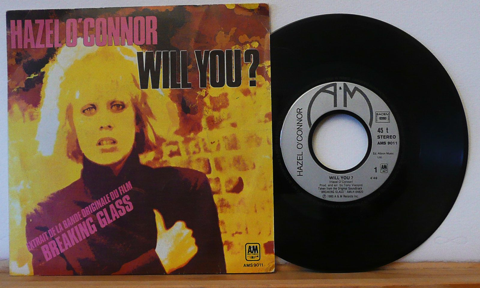 Will You by Hazel O'Connor