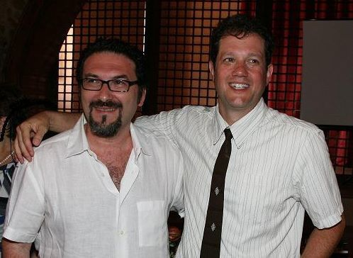 Andrea Ferrante insieme al compositore Premio Oscar, Michael Giacchino