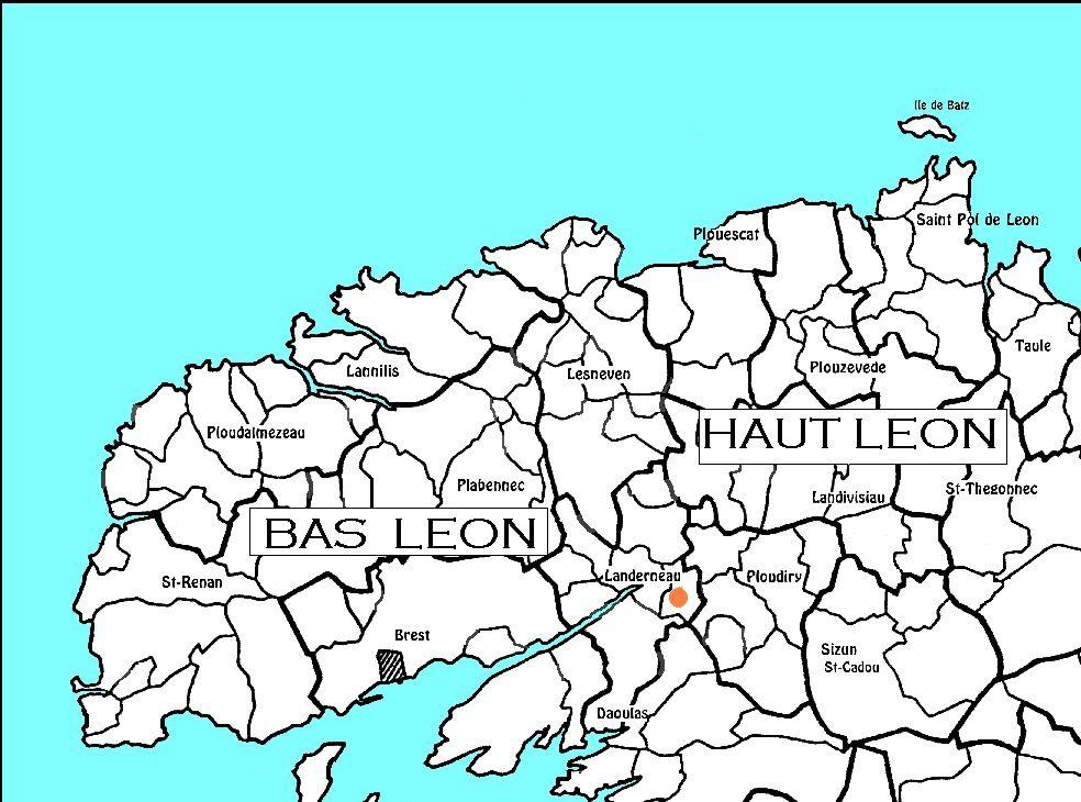 Le Keff, côté Cornouaille de Landerneau, qui a donné le nom à la danse