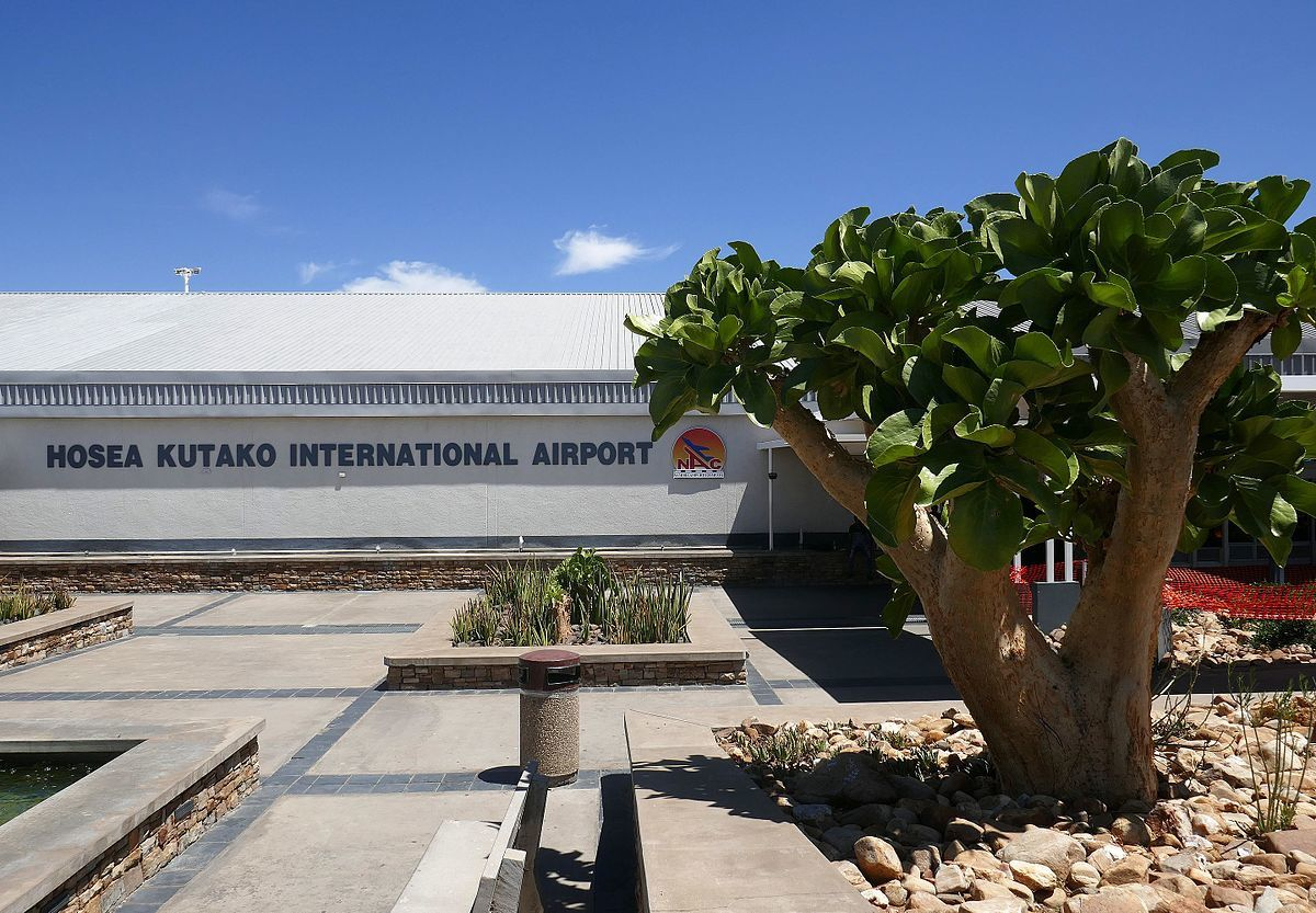 Hosea Kutako International Windhoek airport
