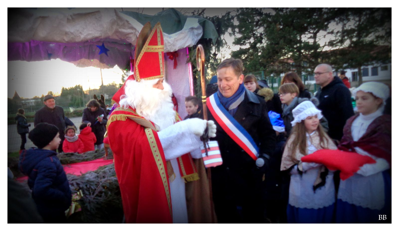 Peltre Défilé Saint-Nicolas le 3 Décembre 2016