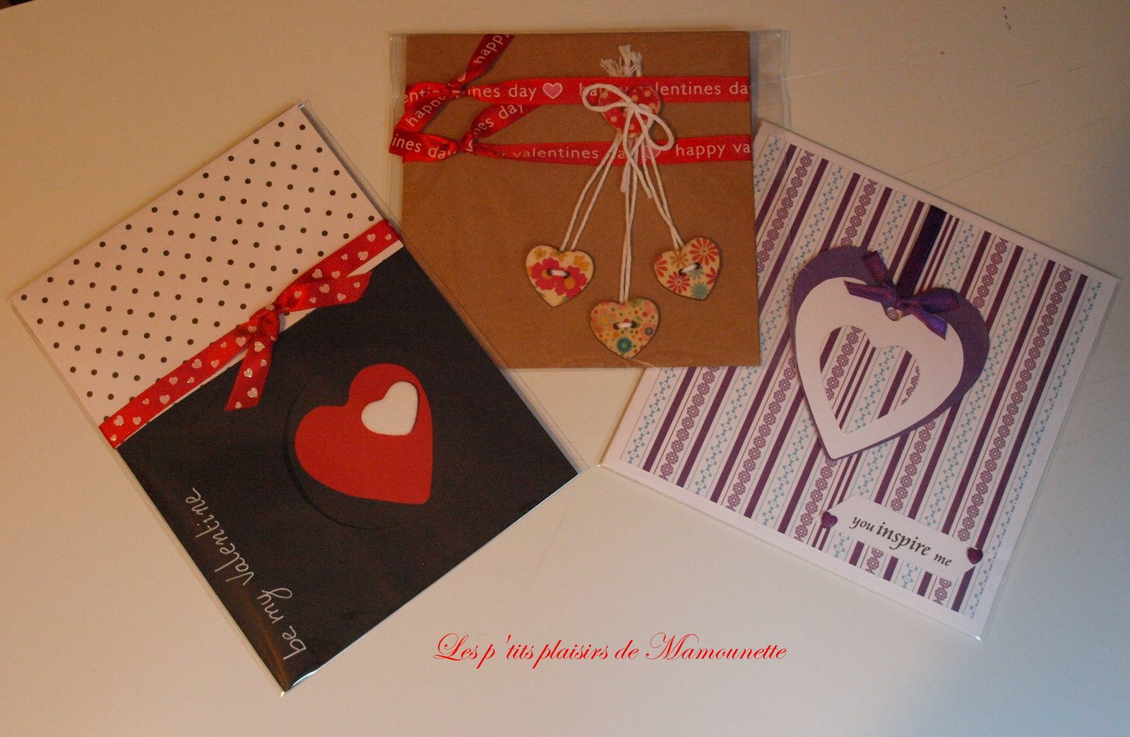 Stock cartes Saint Valentin ♥♥♥