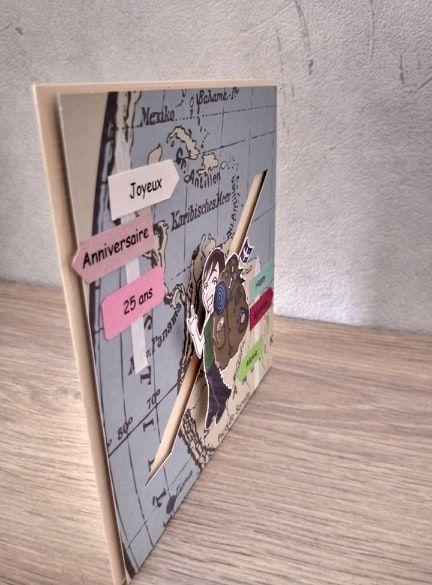 La carte d'anniversaire du routard