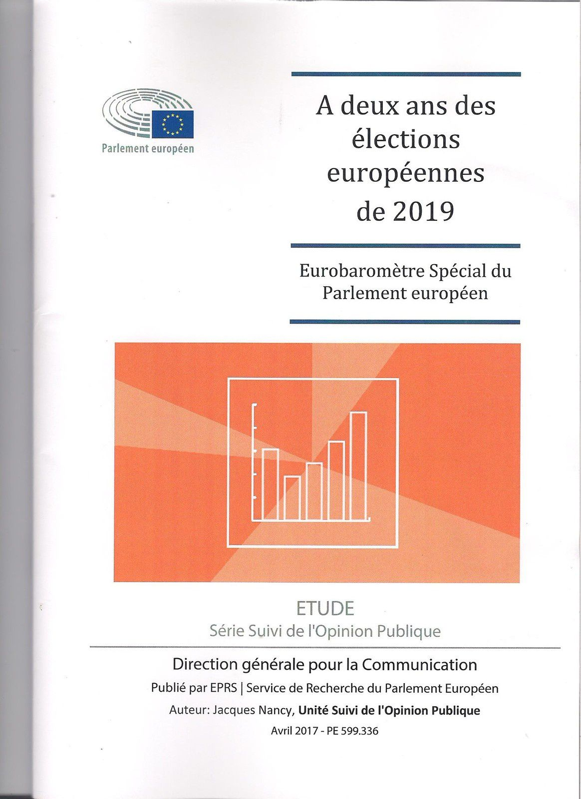 - Projet définitif d'ordre du Jour (18 pages)  - Etude :A deux ans des élections européennes de 2019 - Eurobaromètre spécial du parlement européen - Direction générale pour la Communication - 100 pages  - Openess of public procurement markets in key third countries - DG for External policies - Policy Department - 91 pages  - Registration of persons on board passenger ships - 1 page  - Safety rules and standars for passengers ships - 1 page  - Study : Transformation of China and global economic interdependance - 53 pages  - Study : The future of EU - ASEAN relations - 38 pages  - India and prospects for closer EU tiers - 8 pages  - Youth Challenges and opportunities in the western Balkans - 8 pages  - European Atomic Energy Community (Euratom) - Structures and tools - 8 pages  - The EU olive and olive oil sector. Main features, challenges and prospects - 12 pages  - EU strategy on cooperative intellogent transport system - 8 pages  - Reflection paper on harnessing globalisation - 7 pages