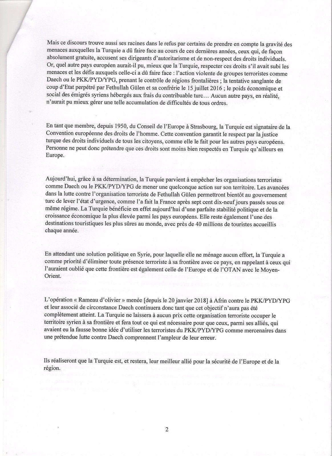 INTERDEPENDANCE TURQUIE - UE ? : INTENTION REPETEE DE MARIAGE MAIS FIANCAILLES TROP LONGUES