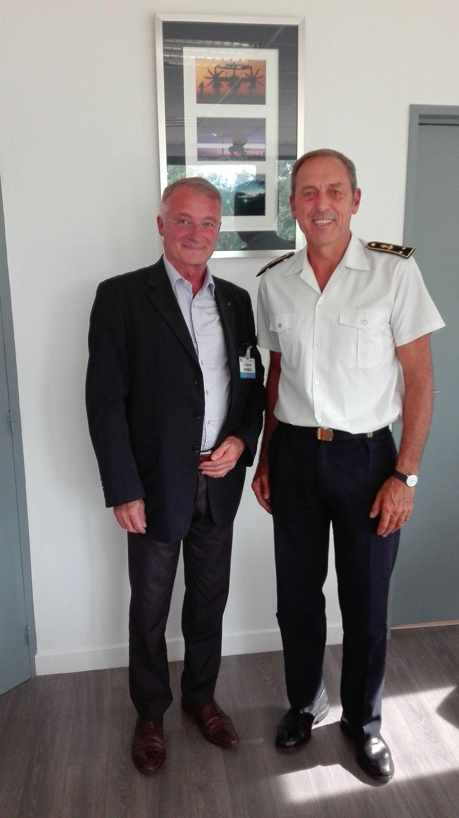 François CHARLES et le CA Dominique COSTARGENT