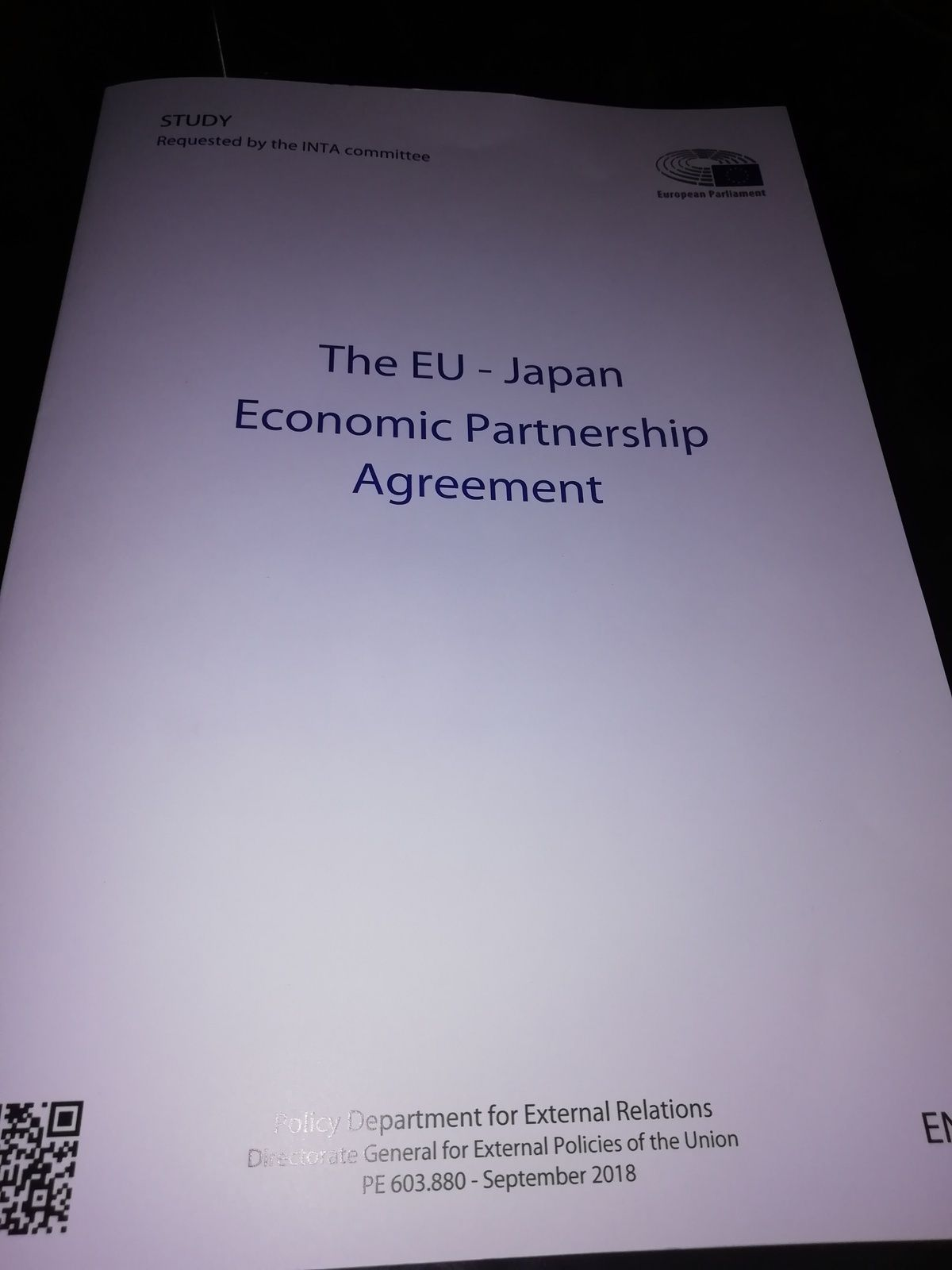 L'ACCORD COMMERCIAL ET STRATEGIQUE ENTRE UNION EUROPEENNE - JAPON PROPICE AUX PME