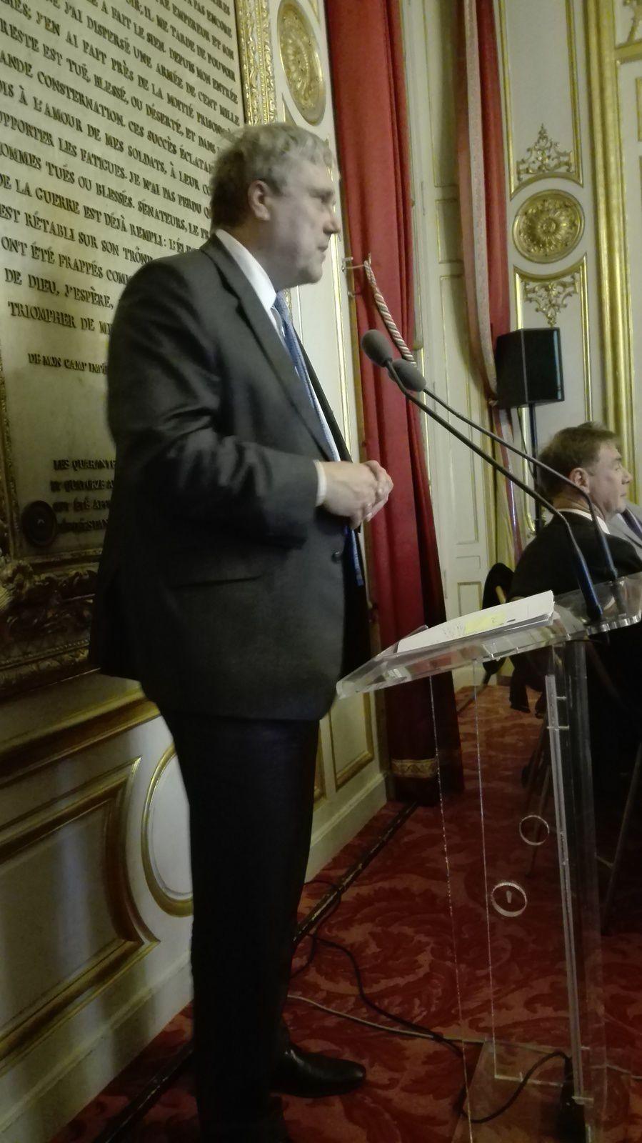Son Excellence Alar STREIMANN, Ambassadeur d'Estonie en France