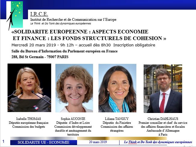 REPORTE : SOLIDARITE EUROPEENNE : ASPECTS ECONOMIE ET FINANCE : LES FONDS STRUCTURELS ET LES FONDS D'INVESTISSEMENT