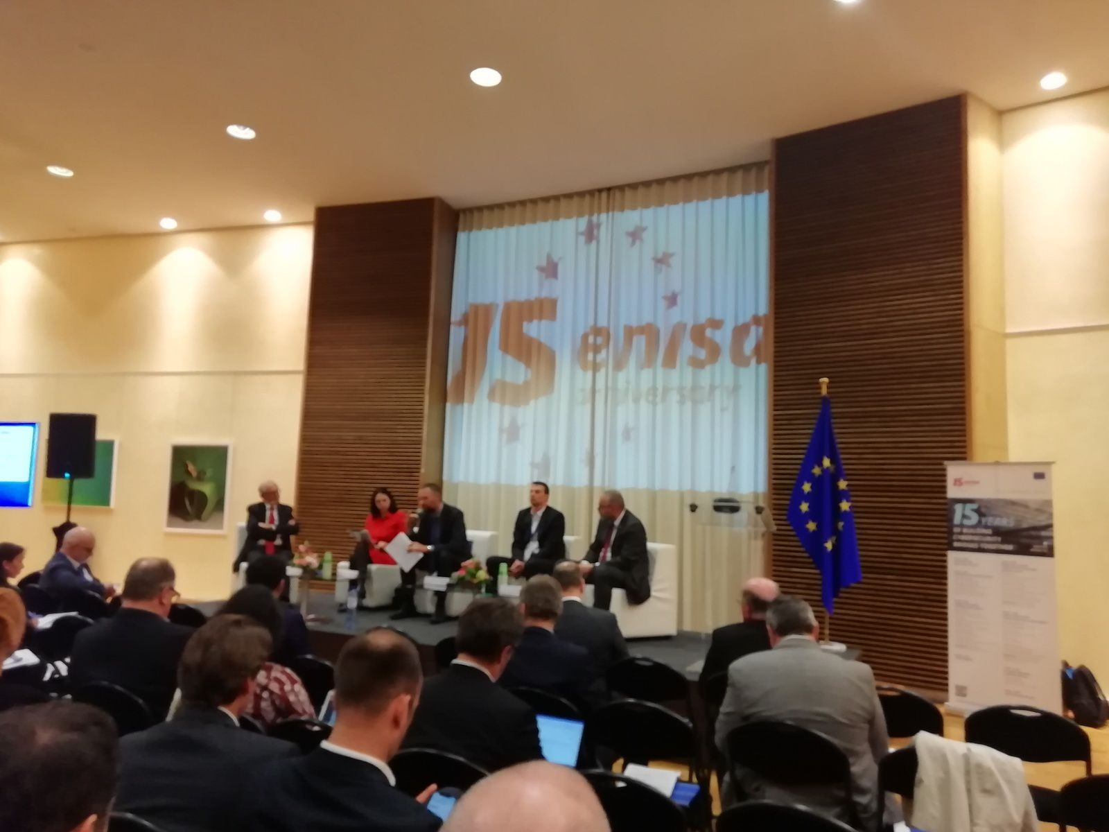 15 ANS DE L'ENISA (Agence européenne numérique et cyber)