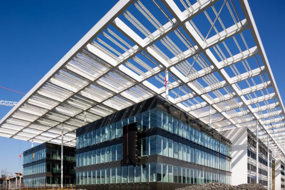 photos : nouveau centre de R&D Michelin, bâtiment principal, site AddUp, réalisations AddUp