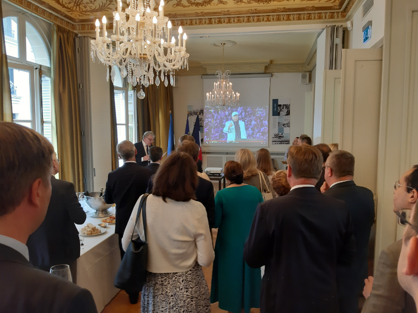RECEPTION AMBASSADE D'ESTONIE