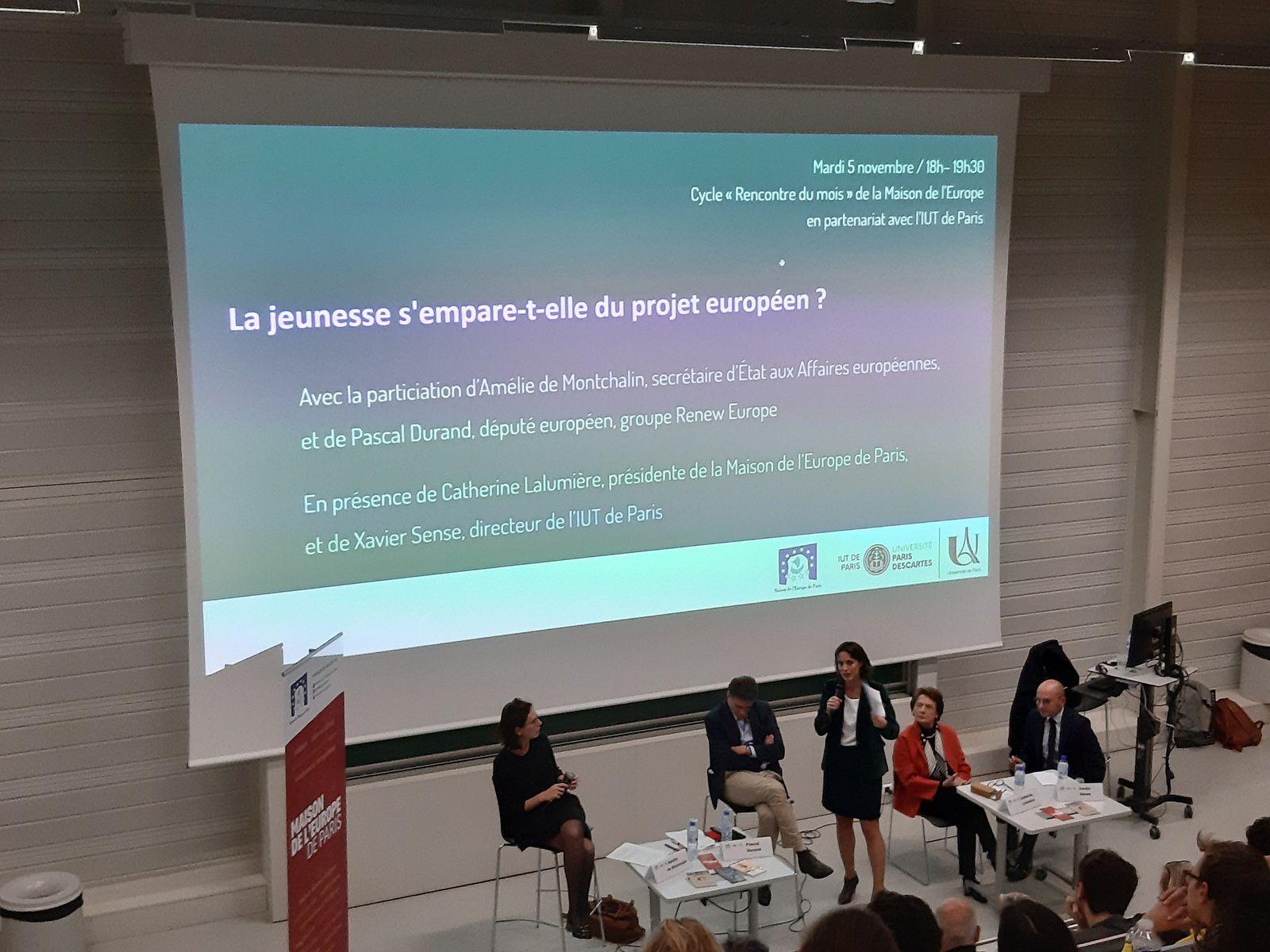 conférence LA JEUNESSE S'EMPARE-T-ELLE DU PROJET EUROPEEN ?