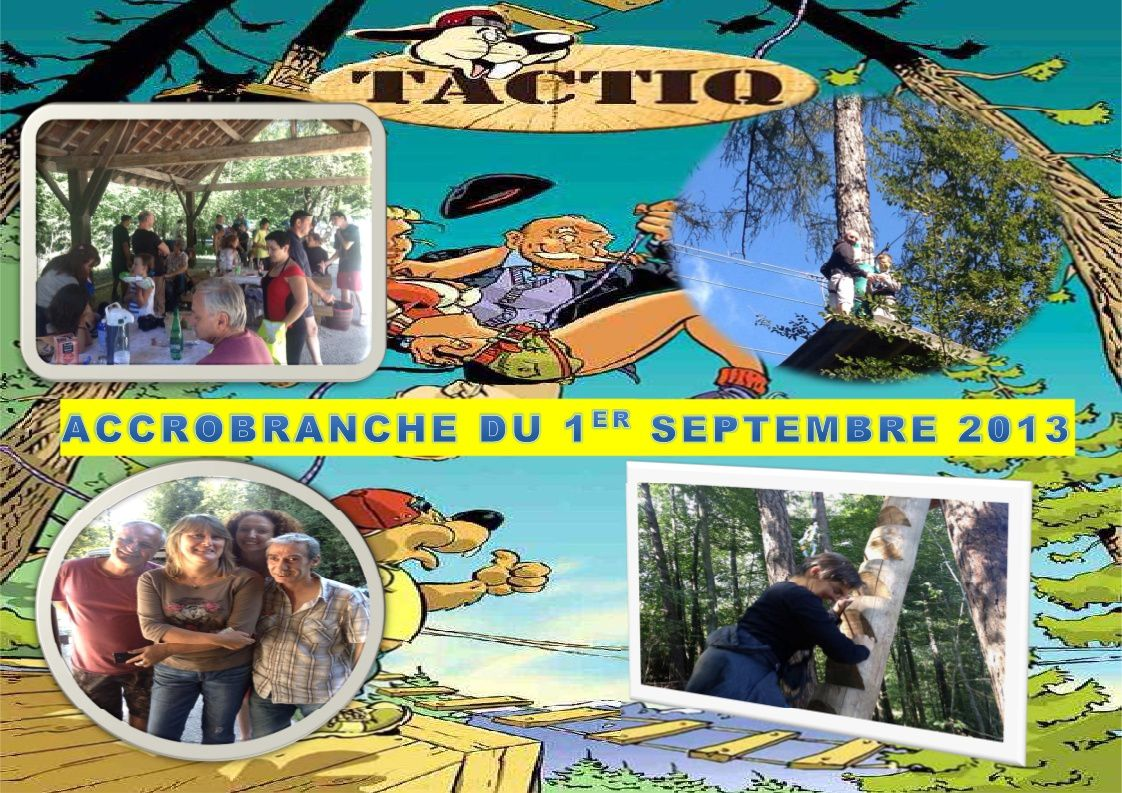 JOURNEE ACCROBRANCHE SEPTEMBRE 2013