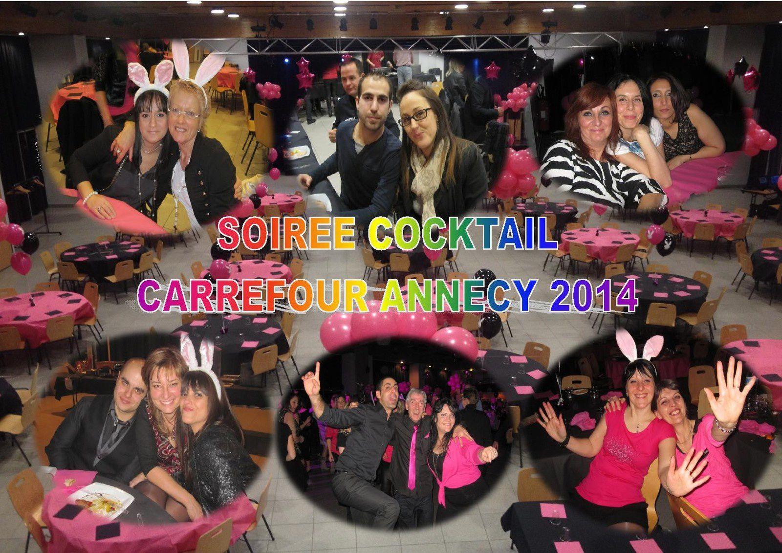 L'ALBUM PHOTO DE LA SOIREE COCKTAIL CARREFOUR ANNECY 2014