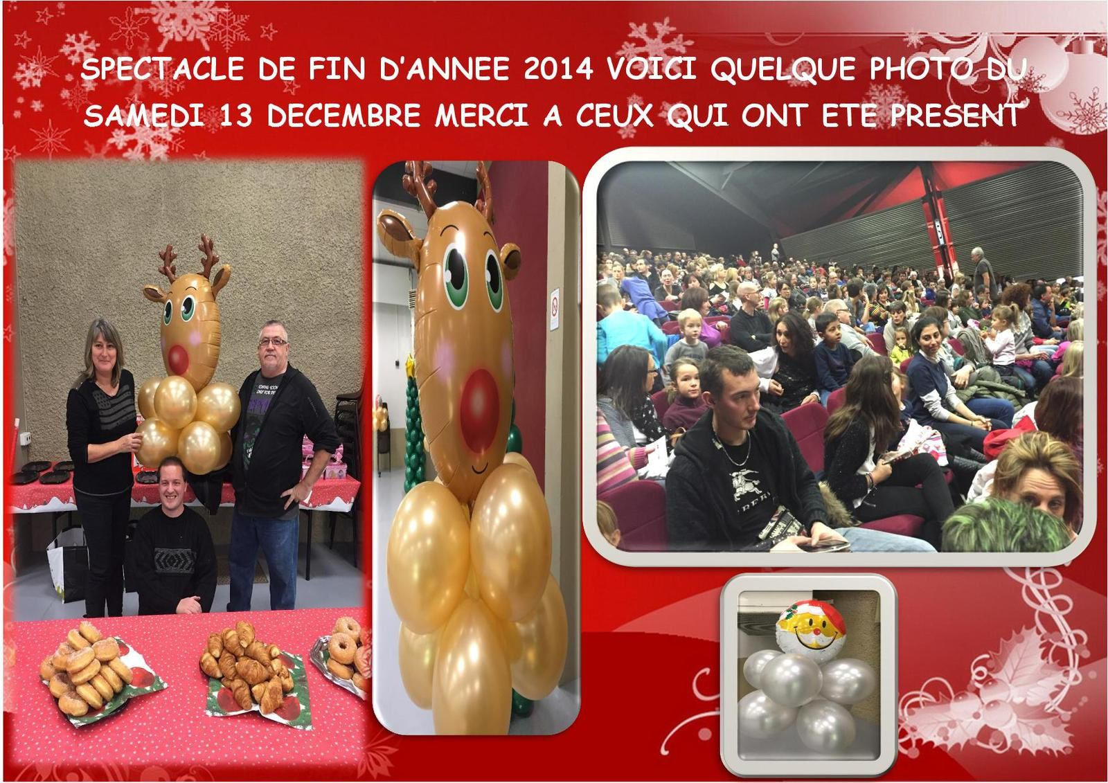 L'ARBRE DE NOEL DU CE CARREFOUR ANNECY DU SAMEDI 13 DECEMBRE 2014(l'album photo)