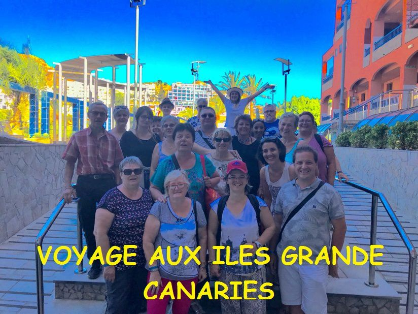 ALBUM PHOTO ET VIDEO DU Voyage aux Îles Canaries