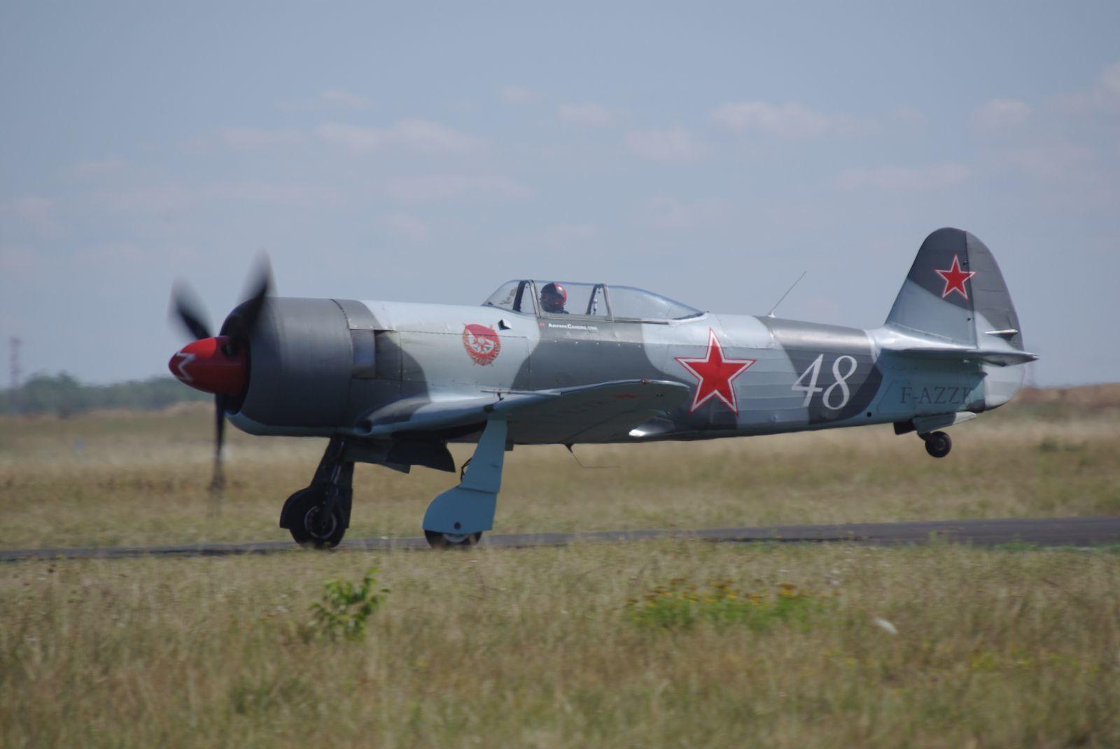 Le Yak 3UPW F-AZZK récemment vu à Melun. (changement d'image)