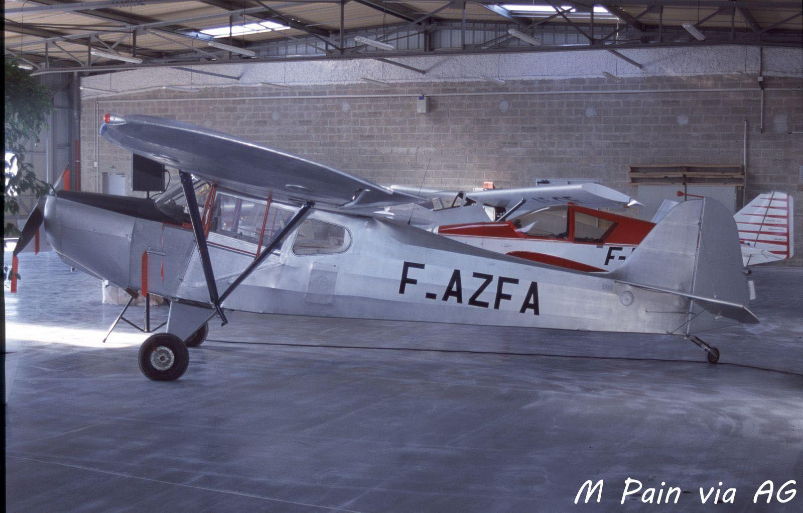 Le Auster J/2 Arrow F-AZFA (Photo: M Pain via AG)