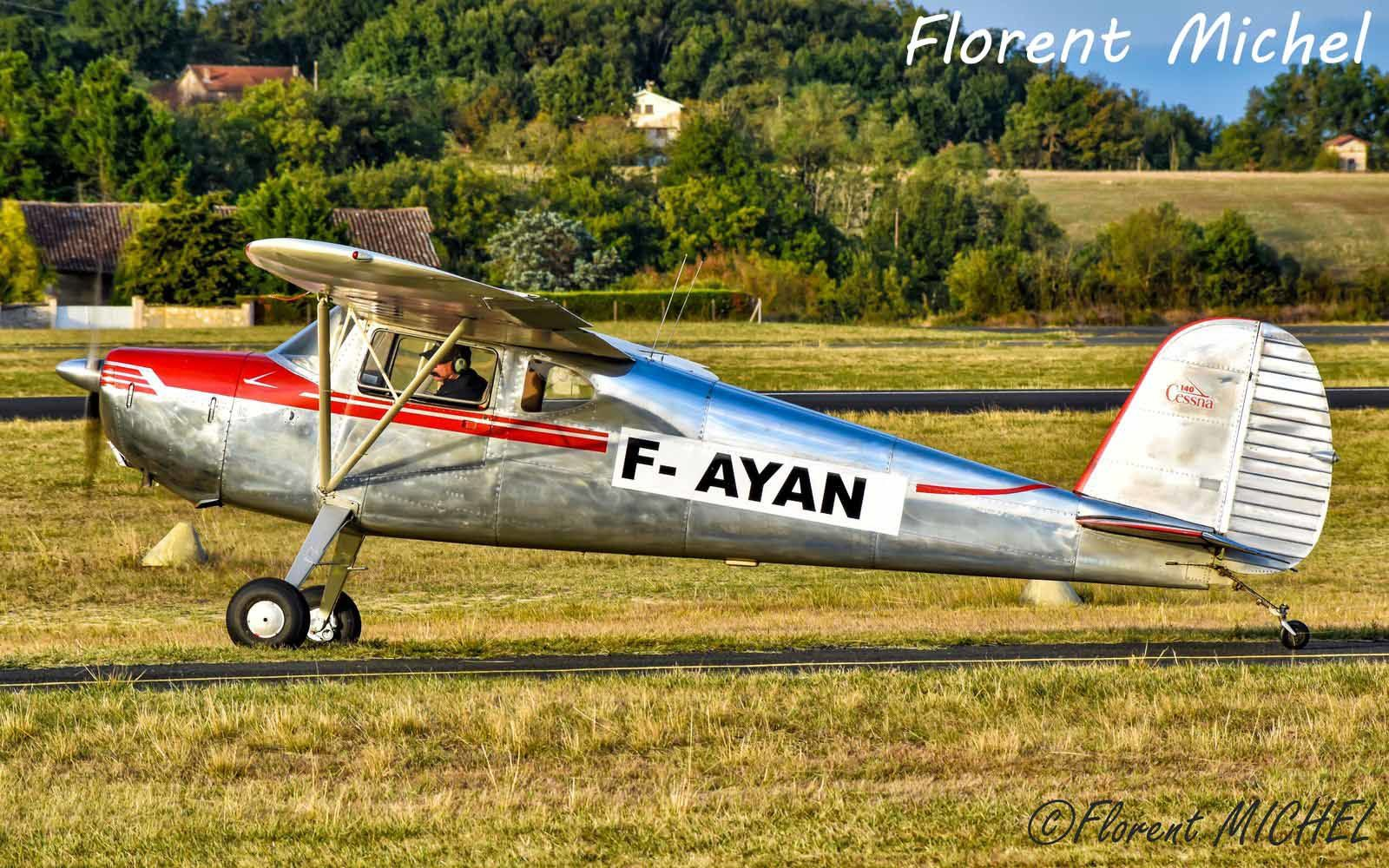 Le Cessna 140 F-AYAN, ex PH-COA (Photo: Florent Michel)