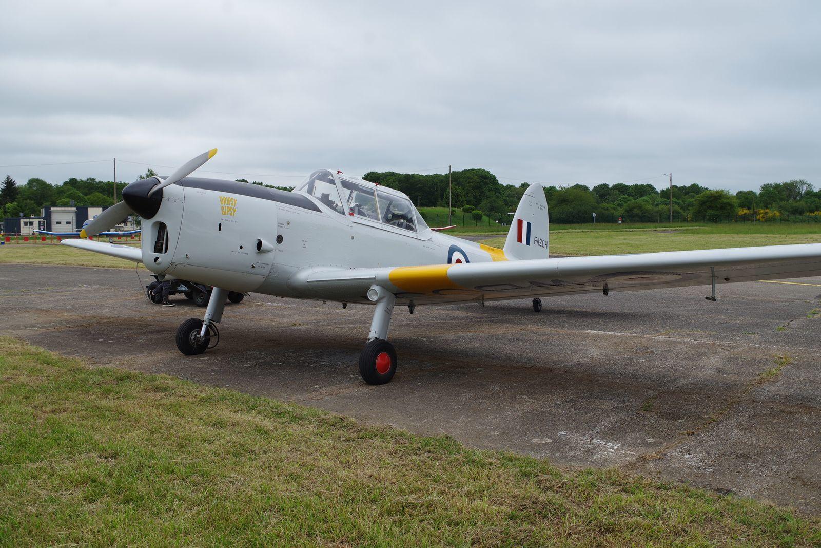 Le DHC-1 Chipmunck F-AZCH de la collection Ham & Jam.