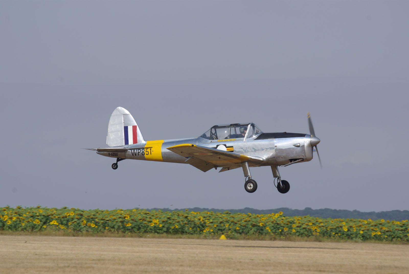 Le DHC-1 Chipmunck WP851 F-AZUU.