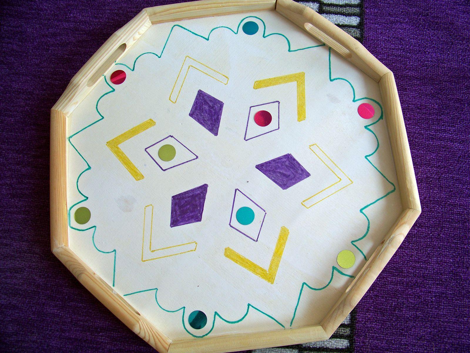 Un plateau octogonal