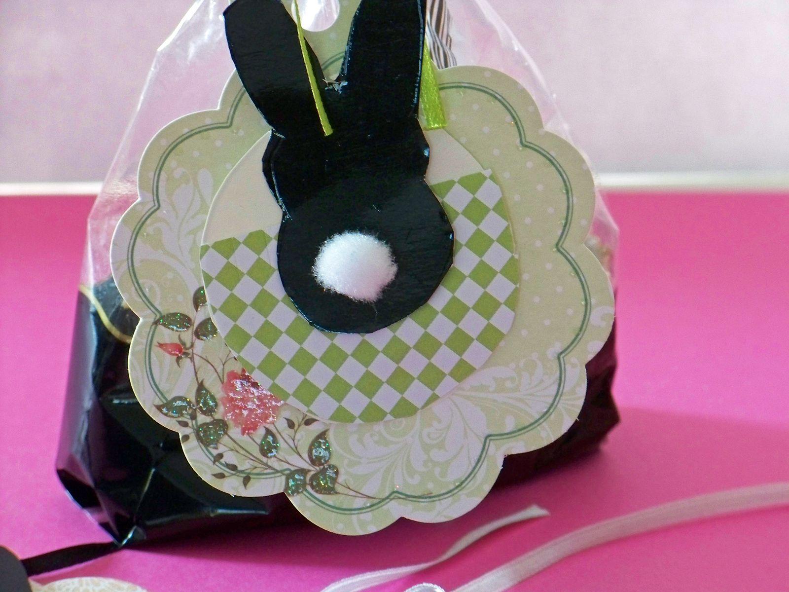 Etiquettes de Pâques en 3 D