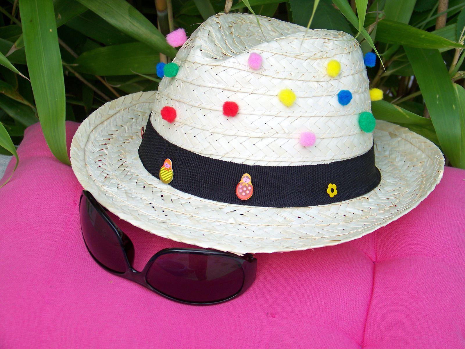 C'est le pompon ce chapeau hihi !!