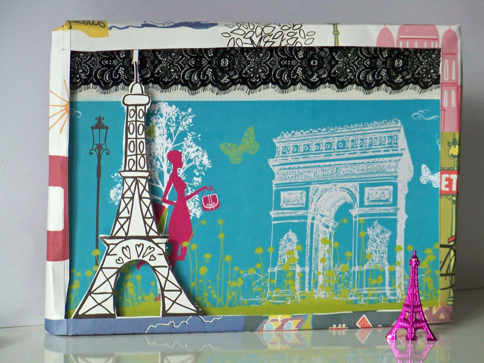 Le cadre 3 D inspiration Paris !