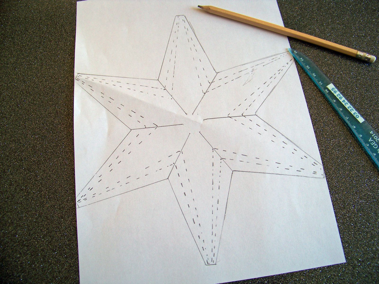 L'étoile multi-pointe