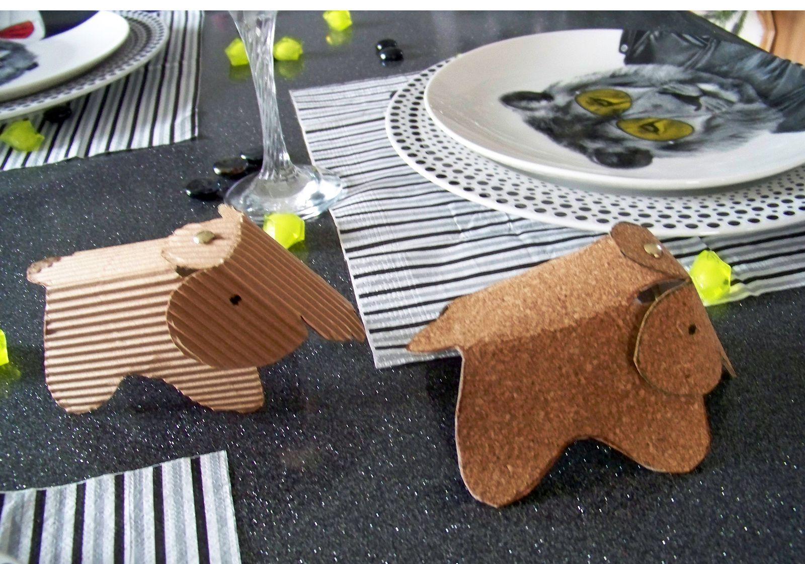 DIY L'éléphant Eames vitra version  liège ou carton ondulé