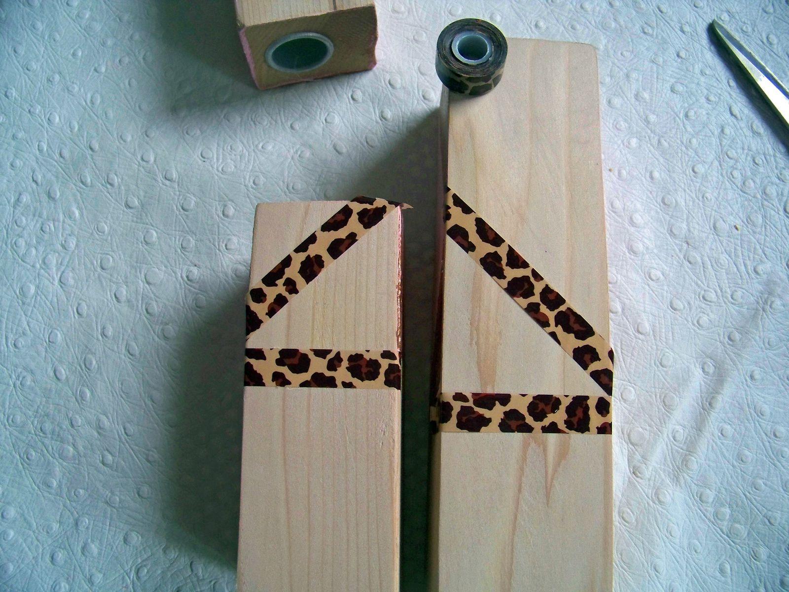 Les bougeoirs en bois tendance cuivrée