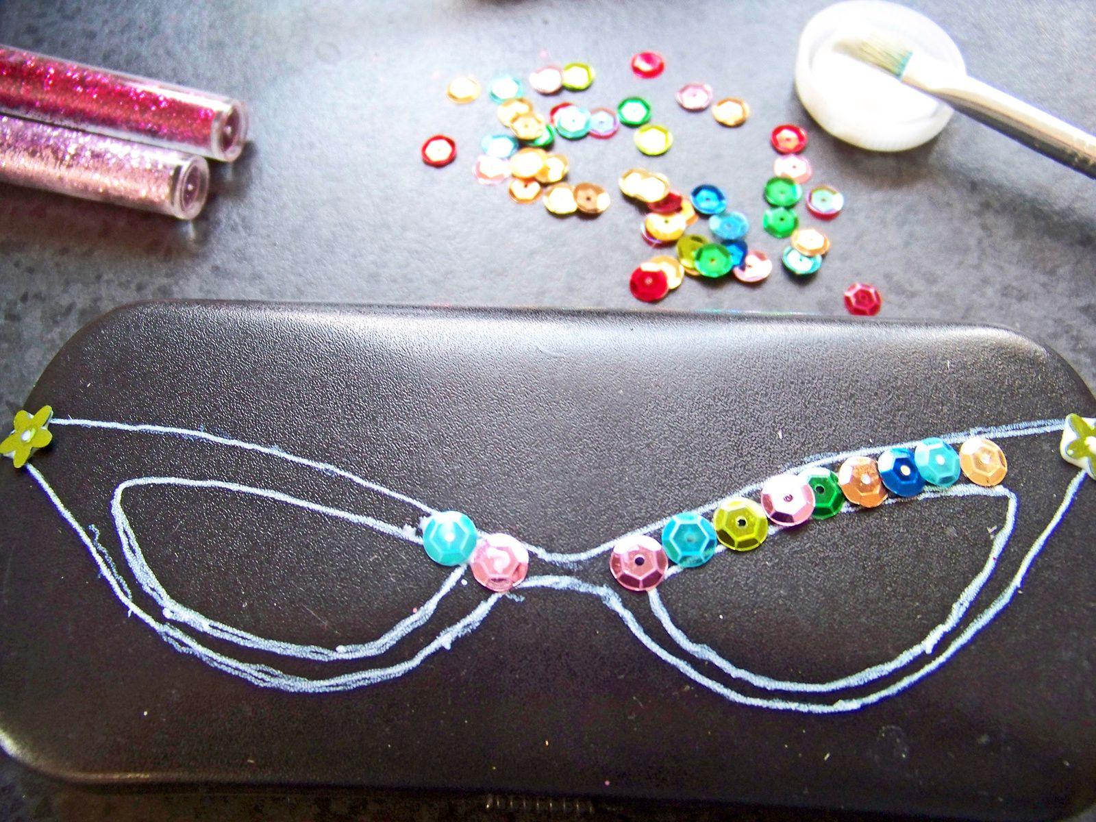 DIY :Etui à lunettes customisé