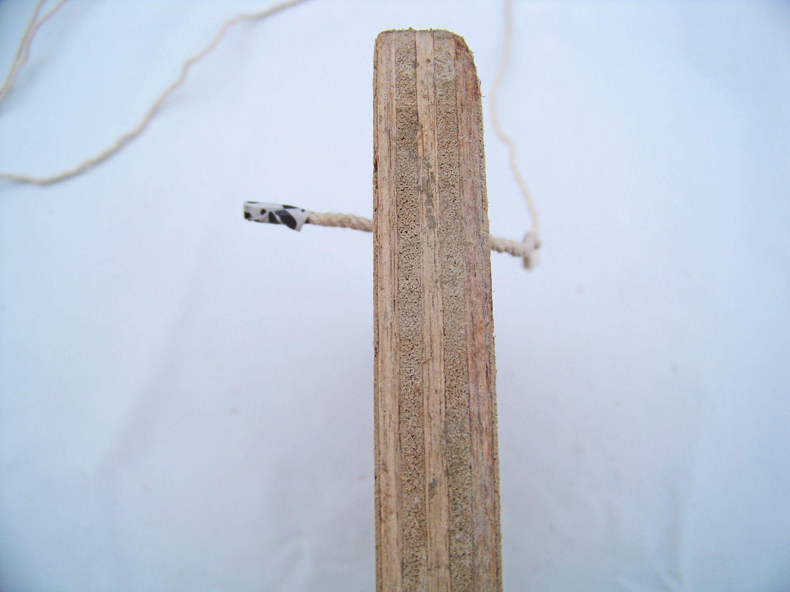 La suspension bois et corde