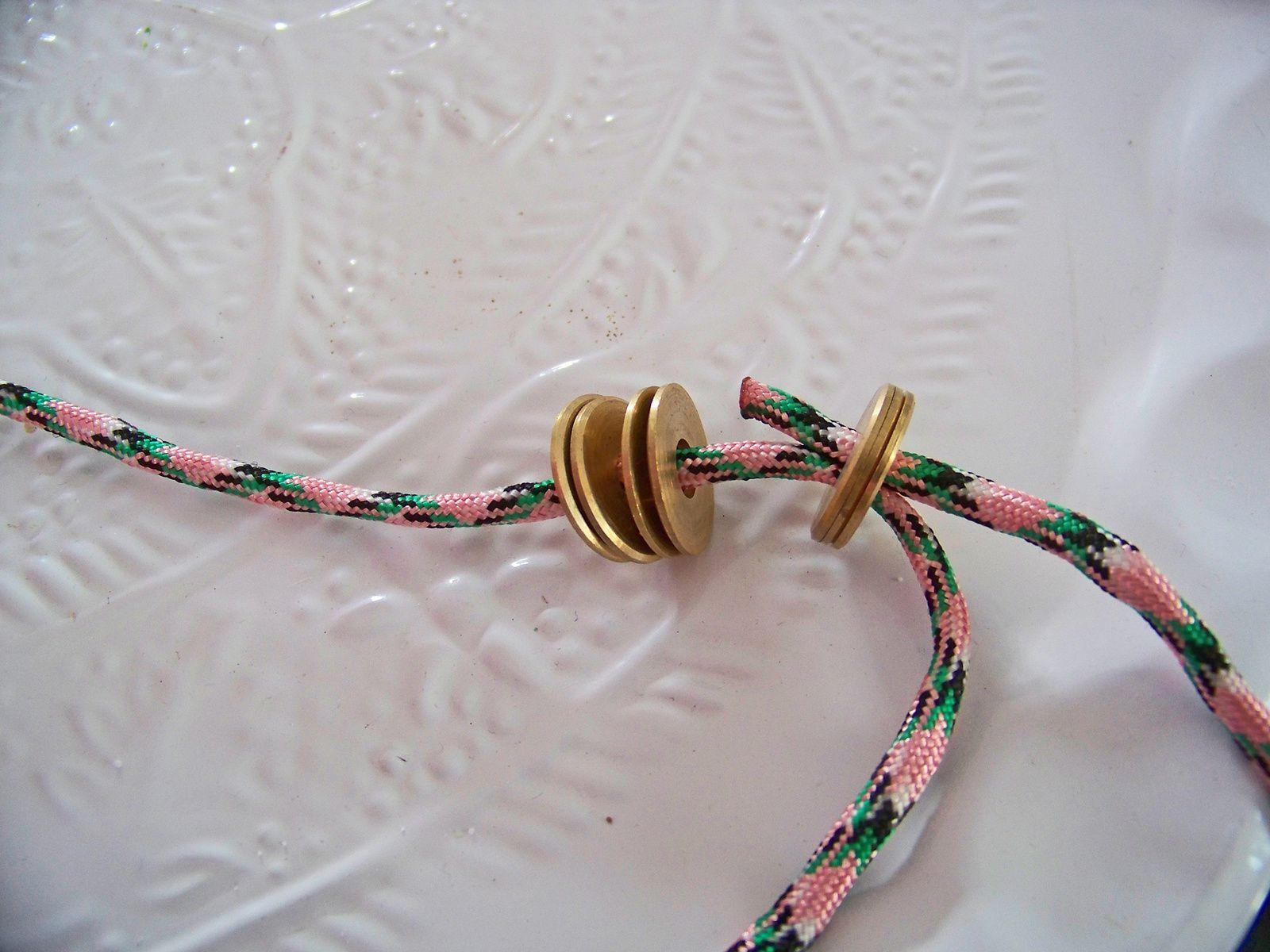 Paracorde pour le bracelet de l'été .