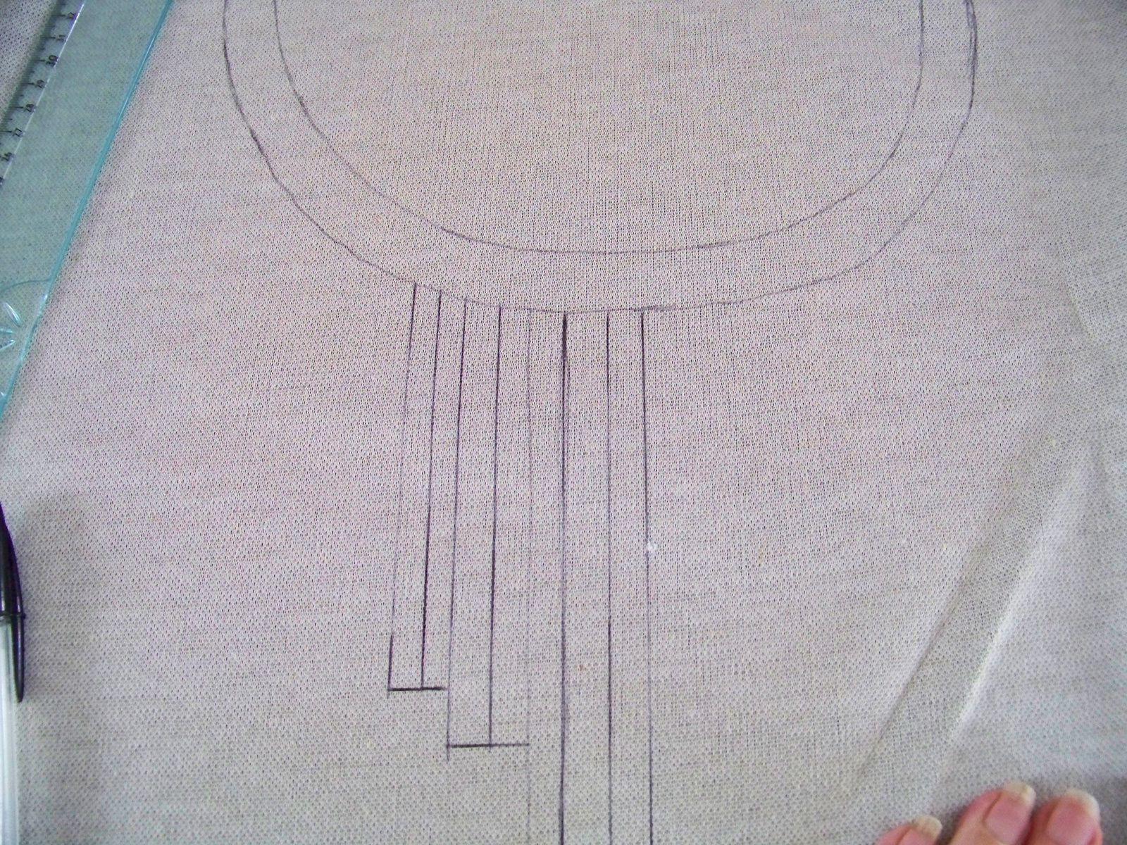 DIY:le tee-shirt à franges