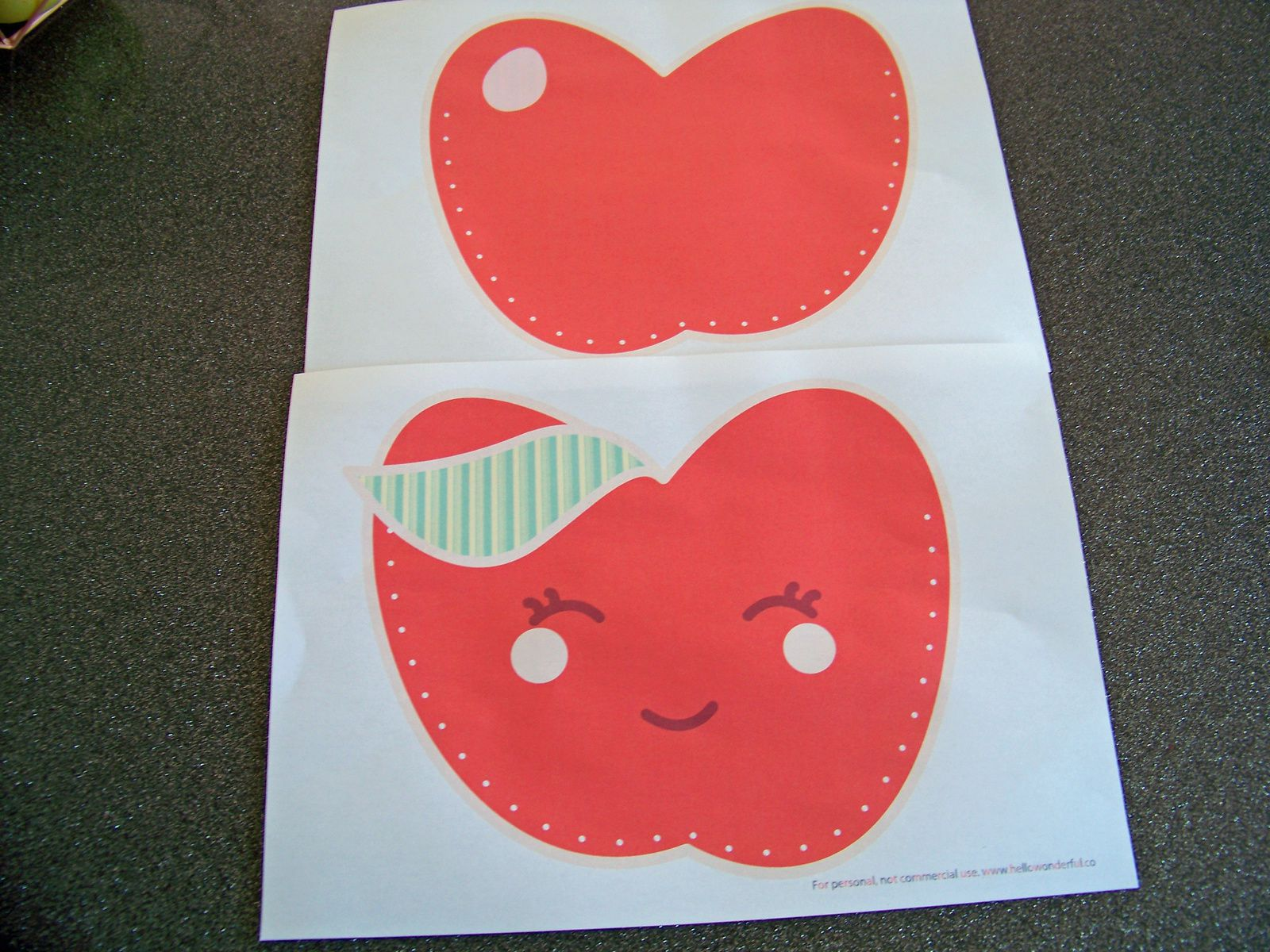 Un petit sac kawaii en papier :DIY